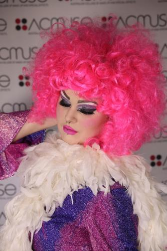 galler pink hair