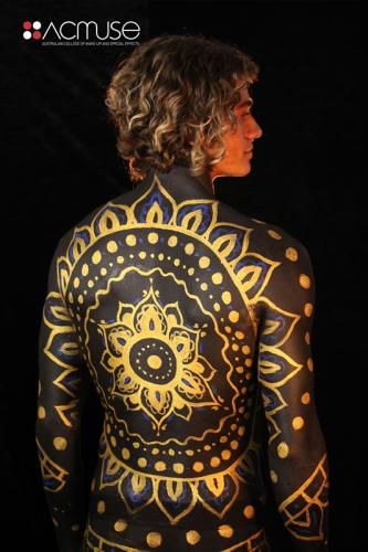 gallery Body Paint Gold